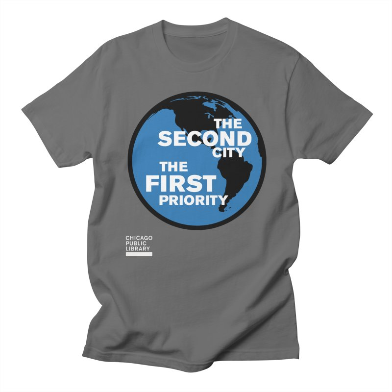 One Book, One Chicago 2019 Second City White Men's Regular T-Shirt by Chicago Public Library Artist Shop