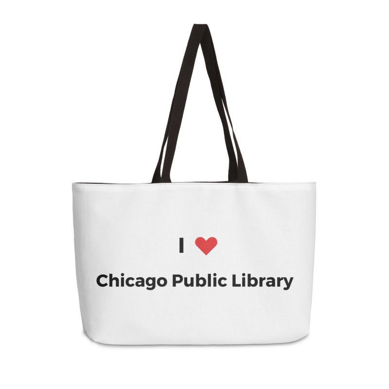 I (heart) Chicago Public Library Accessories Bag by Chicago Public Library Artist Shop