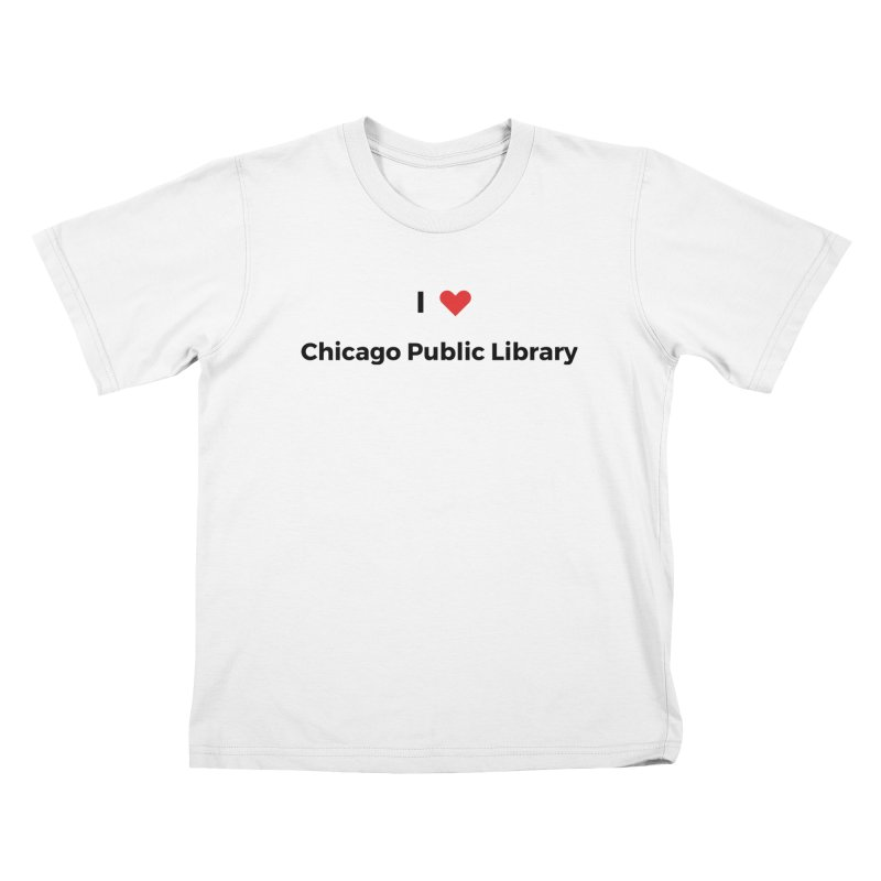 I (heart) Chicago Public Library Kids T-Shirt by Chicago Public Library Artist Shop