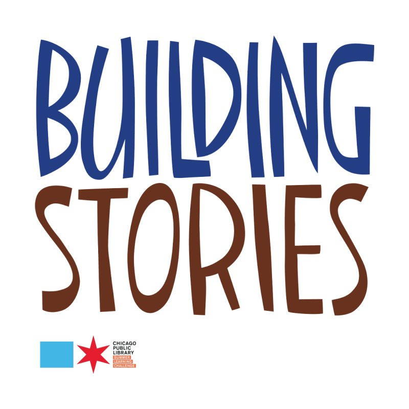 Summer 2020 Building Stories Headline Accessories Zip Pouch by Chicago Public Library Artist Shop