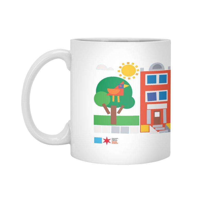 Summer 2020 Early Learning Bird & Apartment Accessories Mug by Chicago Public Library Artist Shop
