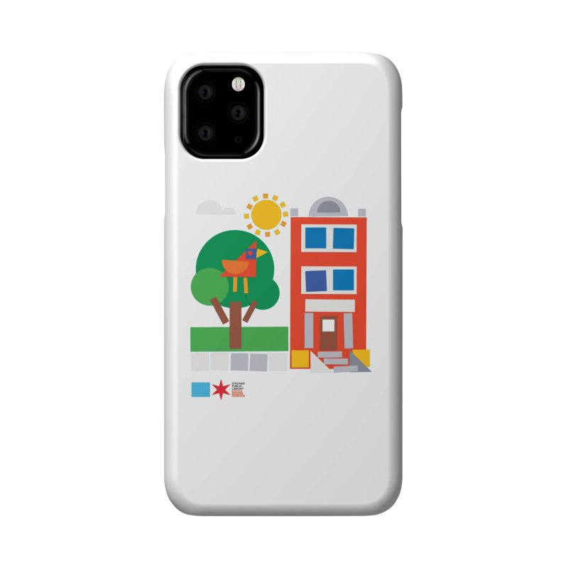 Summer 2020 Early Learning Bird & Apartment Accessories Phone Case by Chicago Public Library Artist Shop