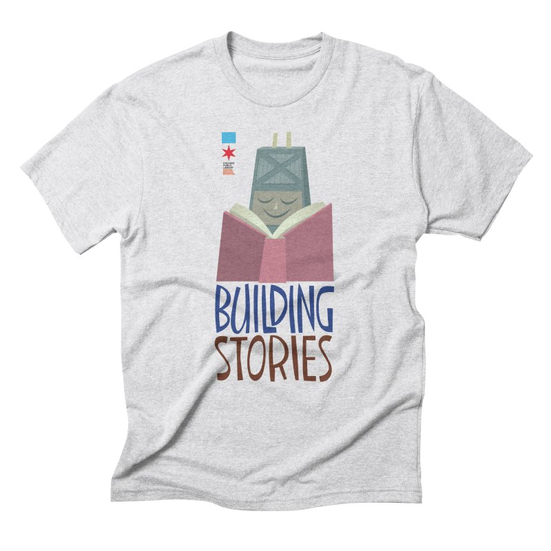 Summer 2020 Hancock Building Stories Men's T-Shirt by Chicago Public Library Artist Shop