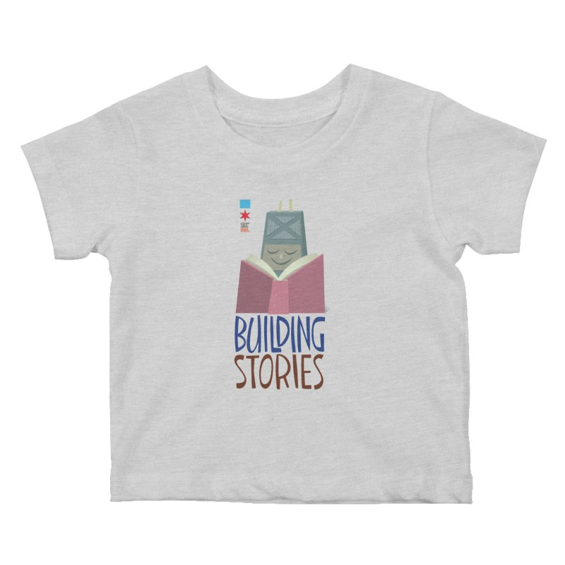 Summer 2020 Hancock Building Stories Kids Baby T-Shirt by Chicago Public Library Artist Shop