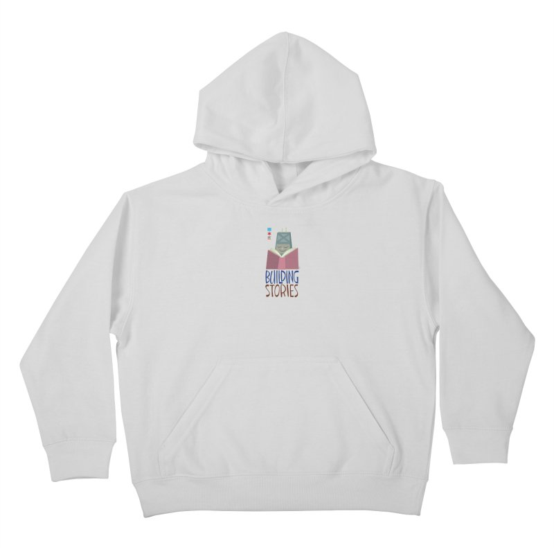 Summer 2020 Hancock Building Stories Kids Pullover Hoody by Chicago Public Library Artist Shop