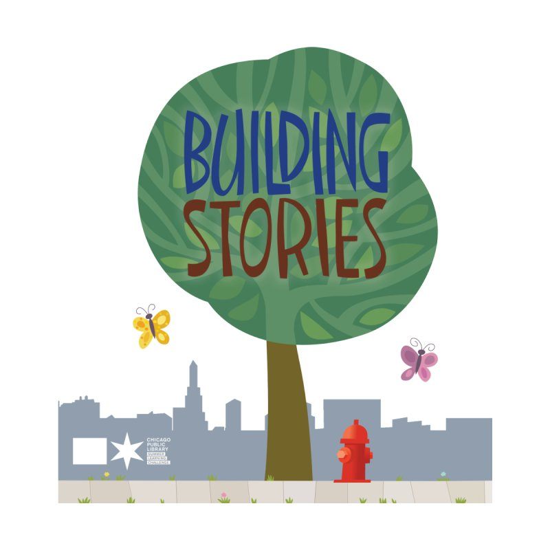 Summer 2020 Building Stories Tree & Fauna Men's T-Shirt by Chicago Public Library Artist Shop