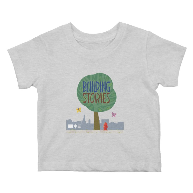 Summer 2020 Building Stories Tree & Fauna Kids Baby T-Shirt by Chicago Public Library Artist Shop