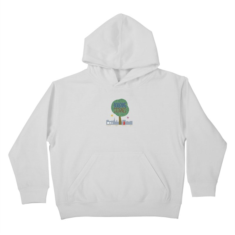 Summer 2020 Building Stories Tree & Fauna Kids Pullover Hoody by Chicago Public Library Artist Shop