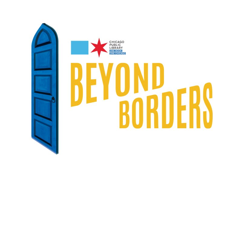 One Book, One Chicago 2020 Beyond Borders Door Kids Baby Bodysuit by Chicago Public Library Artist Shop
