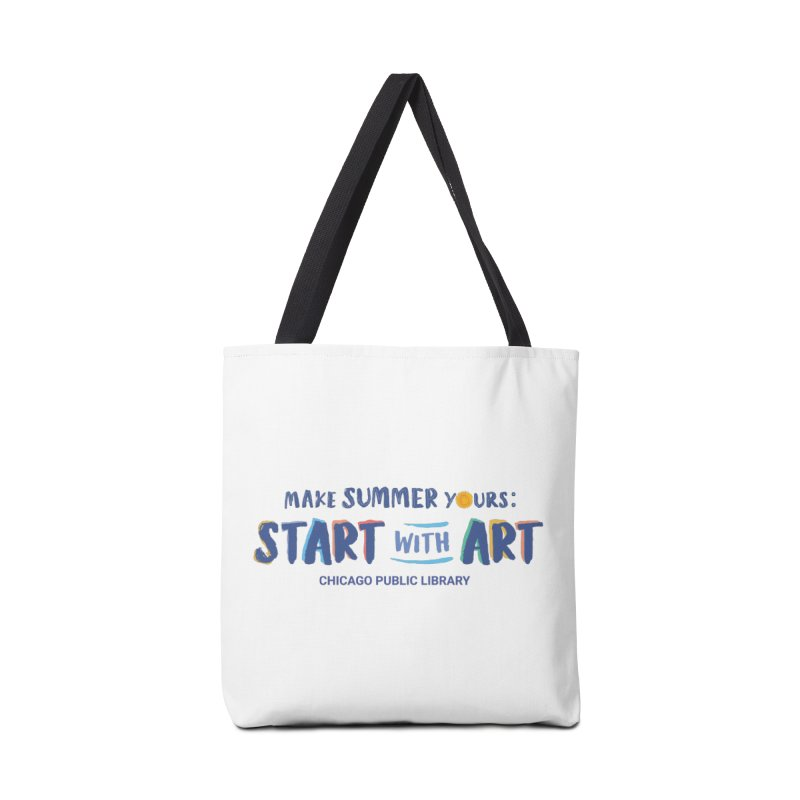 Summer 2021 - Start with Art Accessories Bag by Chicago Public Library Artist Shop