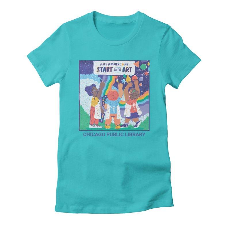 Summer 2021 - Little Kids Women's T-Shirt by Chicago Public Library Artist Shop