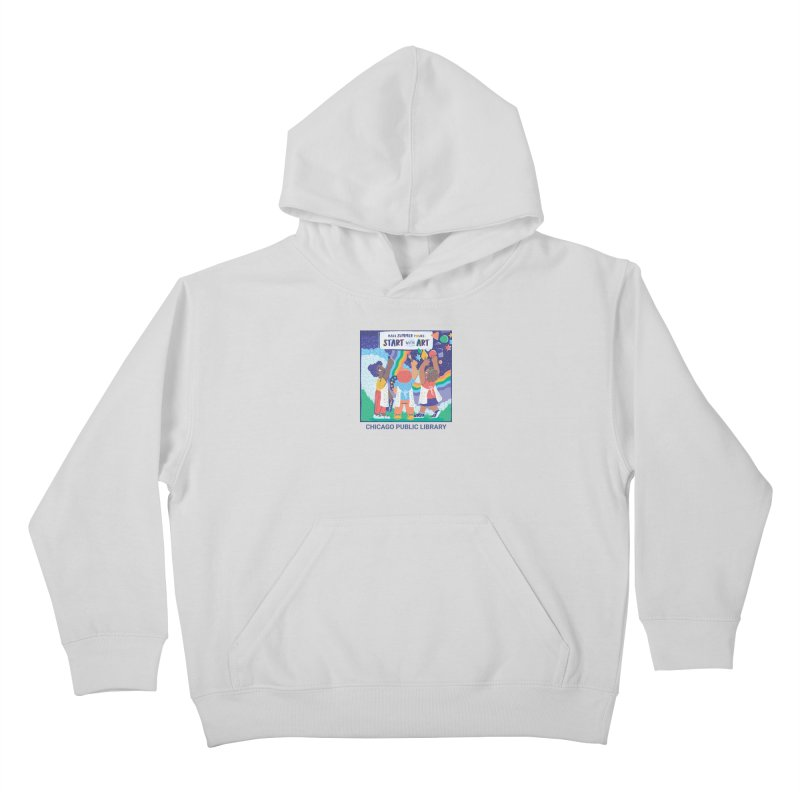 Summer 2021 - Little Kids Kids Pullover Hoody by Chicago Public Library Artist Shop