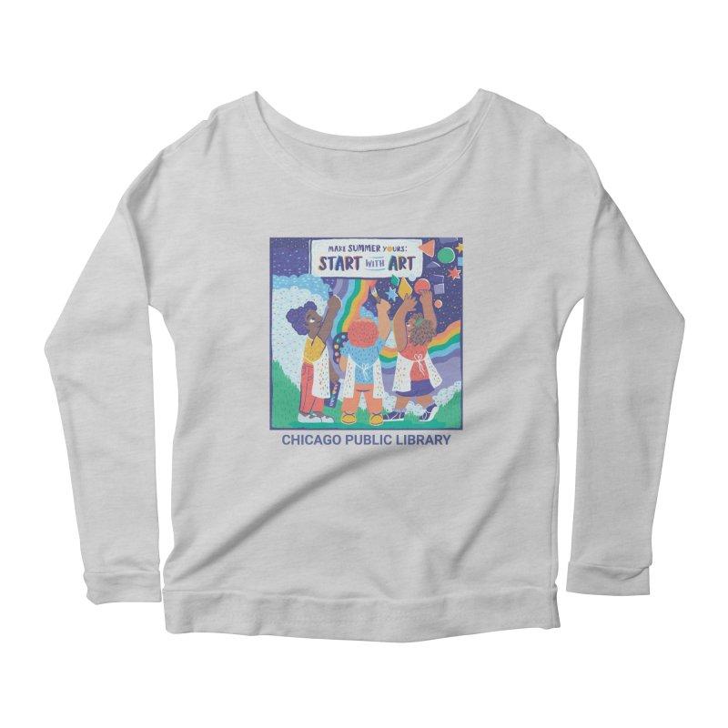 Summer 2021 - Little Kids Women's Longsleeve T-Shirt by Chicago Public Library Artist Shop
