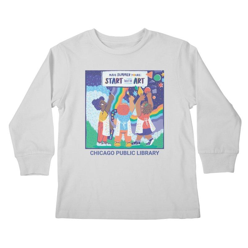 Summer 2021 - Little Kids Kids Longsleeve T-Shirt by Chicago Public Library Artist Shop