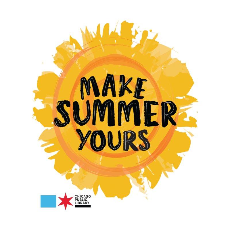 Summer 2021 - Make Summer Yours Sun Men's T-Shirt by Chicago Public Library Artist Shop