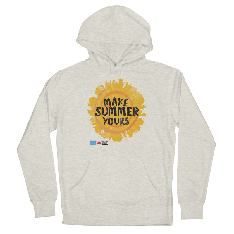 Summer 2021 - Make Summer Yours Sun Men's Pullover Hoody by Chicago Public Library Artist Shop
