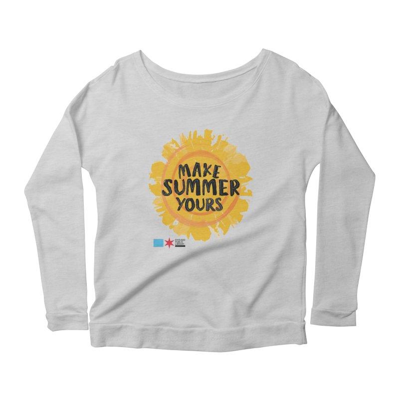 Summer 2021 - Make Summer Yours Sun Women's Longsleeve T-Shirt by Chicago Public Library Artist Shop