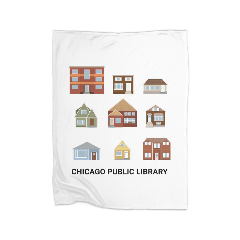 One Book, One Chicago 2021 Houses Home Blanket by Chicago Public Library Artist Shop