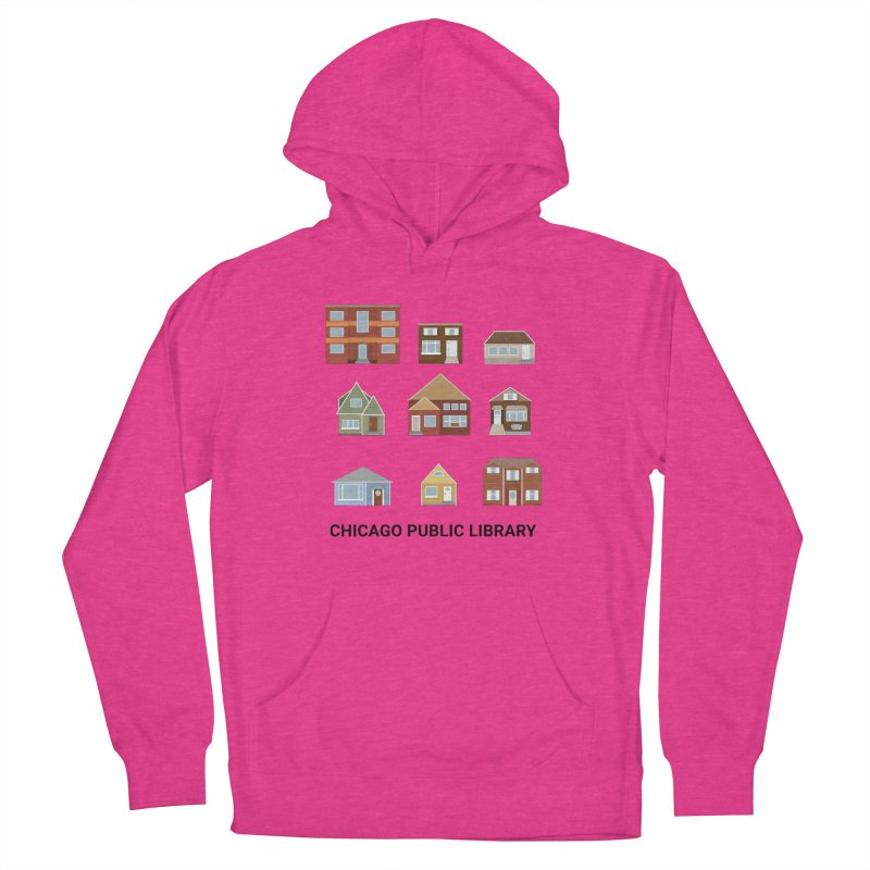 One Book, One Chicago 2021 Houses Women's Pullover Hoody by Chicago Public Library Artist Shop