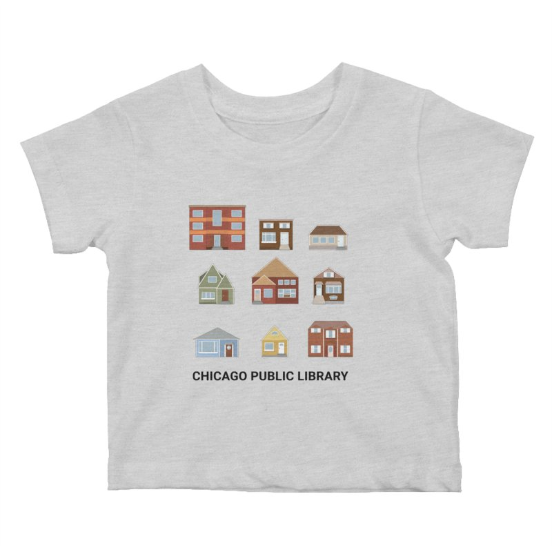 One Book, One Chicago 2021 Houses Kids Baby T-Shirt by Chicago Public Library Artist Shop