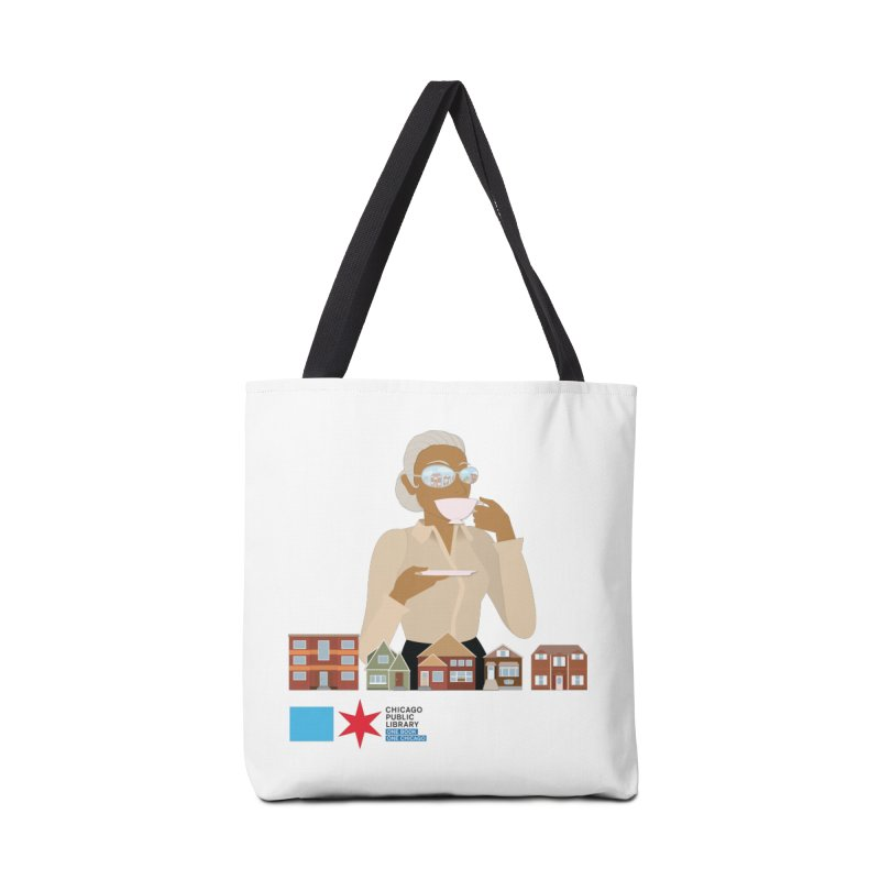 One Book, One Chicago 2021 Mrs. Motley Accessories Bag by Chicago Public Library Artist Shop