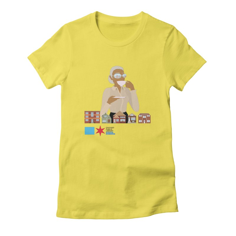 One Book, One Chicago 2021 Mrs. Motley Women's T-Shirt by Chicago Public Library Artist Shop