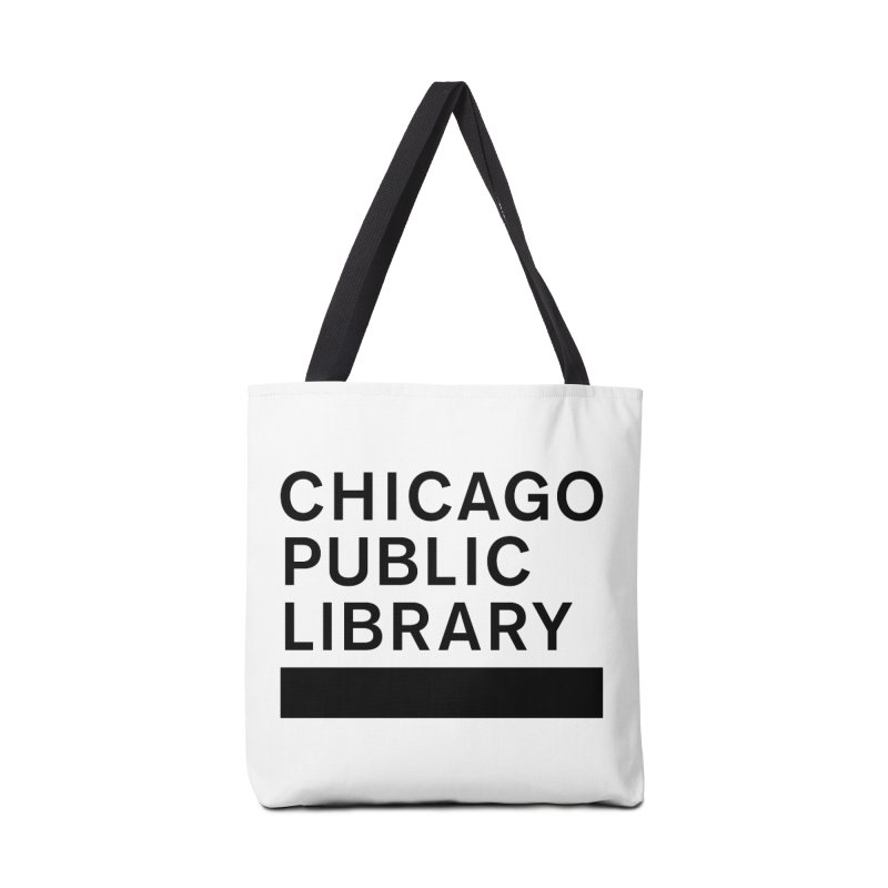 CPL Master Brand Logo Accessories Bag by Chicago Public Library Artist Shop