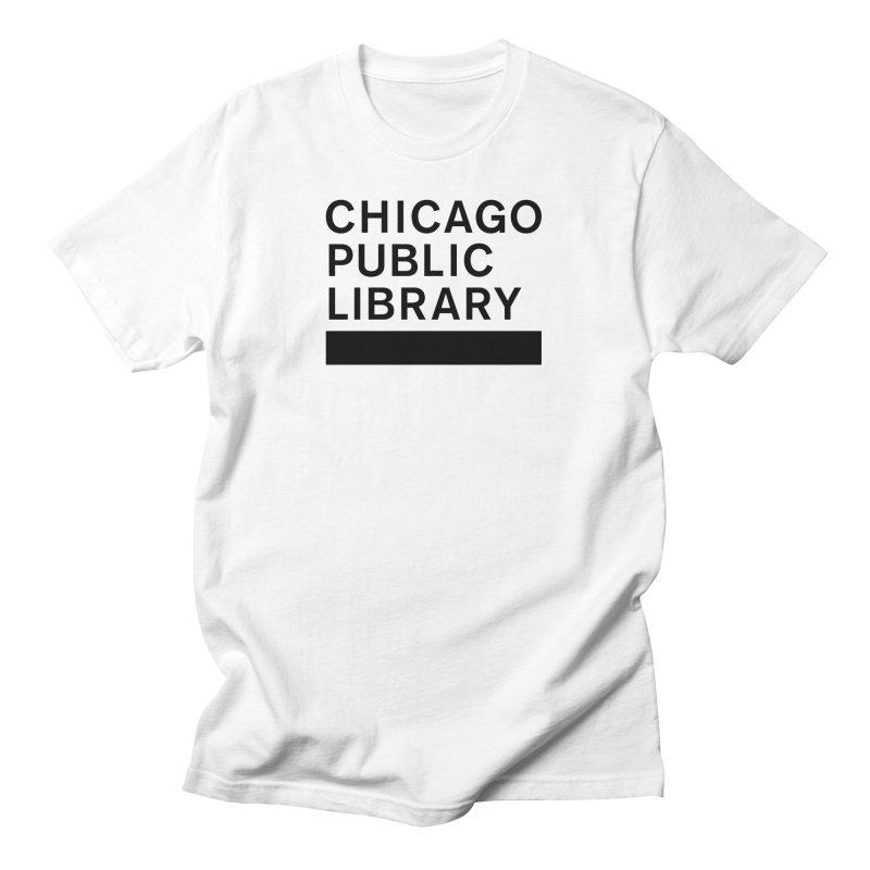CPL Master Brand Logo Men's T-Shirt by Chicago Public Library Artist Shop
