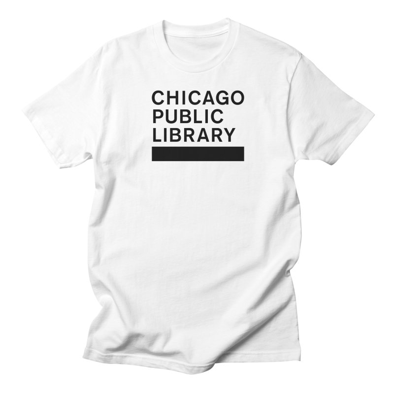 CPL Master Brand Logo Men's T-Shirt by Chicago Public Library Artist Shop