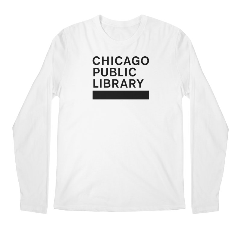 CPL Master Brand Logo Men's Regular Longsleeve T-Shirt by Chicago Public Library Artist Shop