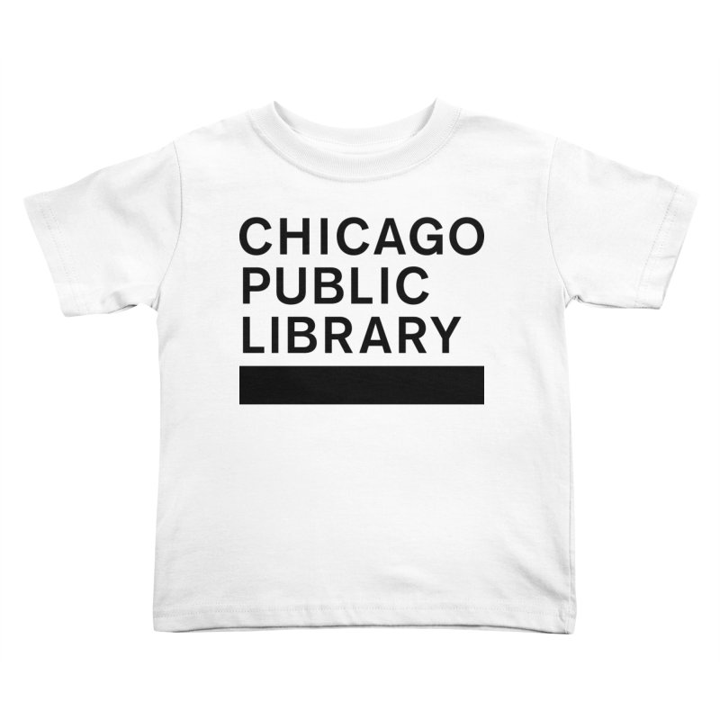 CPL Master Brand Logo Kids Toddler T-Shirt by Chicago Public Library Artist Shop