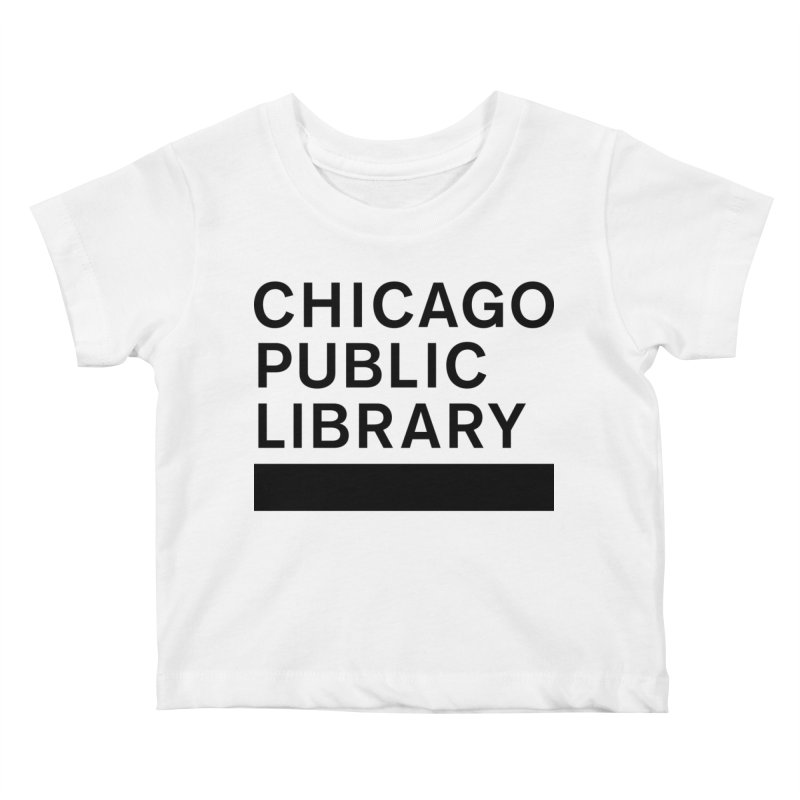 CPL Master Brand Logo Kids Baby T-Shirt by Chicago Public Library Artist Shop