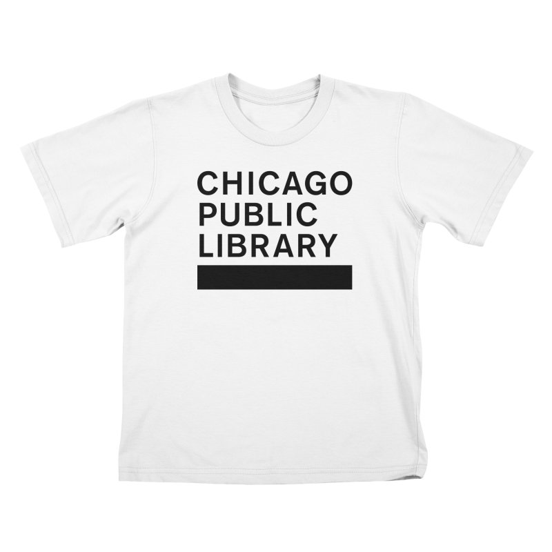CPL Master Brand Logo Kids T-Shirt by Chicago Public Library Artist Shop