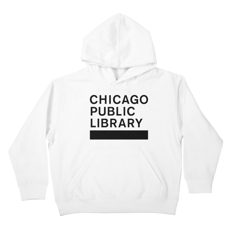 CPL Master Brand Logo Kids Pullover Hoody by Chicago Public Library Artist Shop