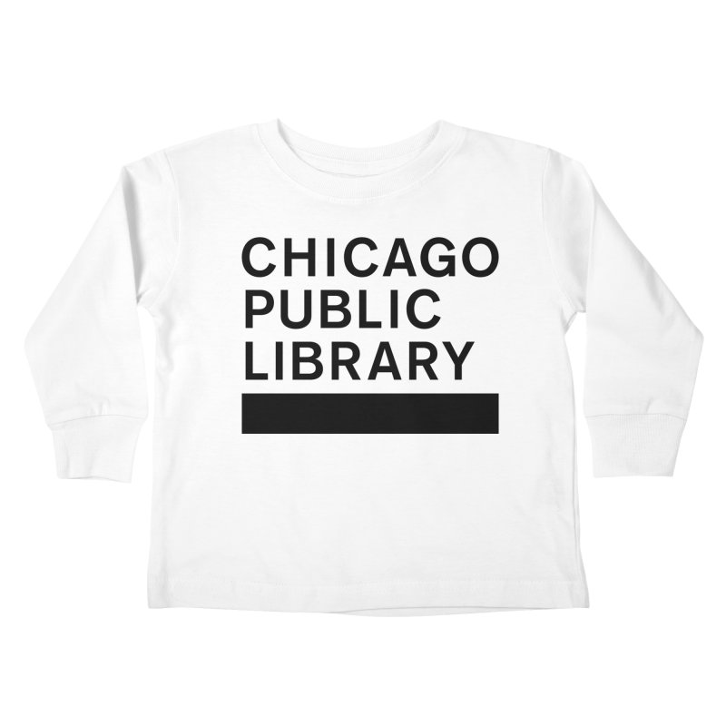 CPL Master Brand Logo Kids Toddler Longsleeve T-Shirt by Chicago Public Library Artist Shop