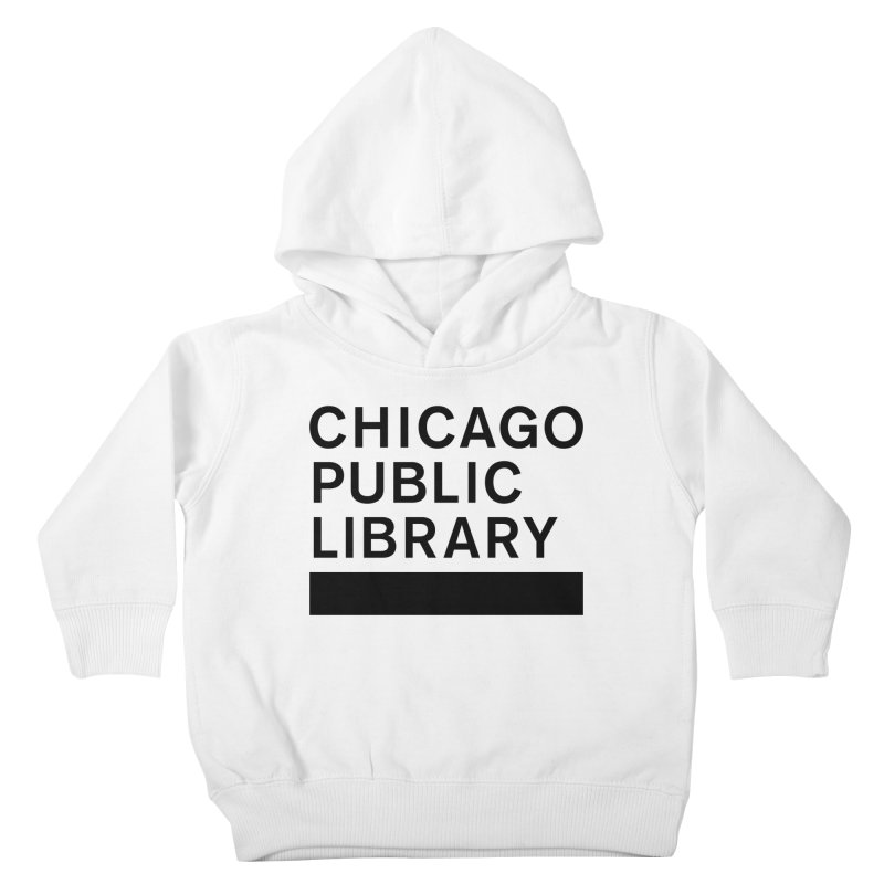 CPL Master Brand Logo Kids Toddler Pullover Hoody by Chicago Public Library Artist Shop