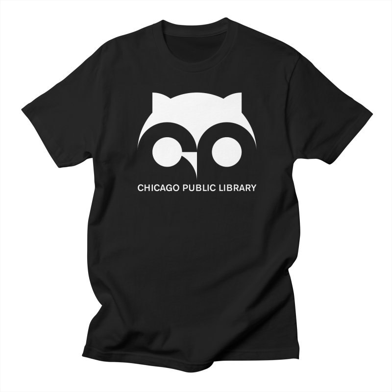 CPL Owl Reverse Men's Regular T-Shirt by Chicago Public Library Artist Shop