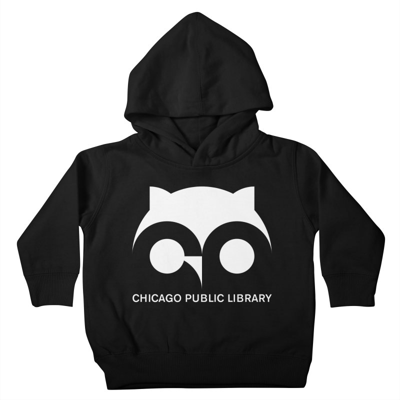 CPL Owl Reverse Kids Toddler Pullover Hoody by Chicago Public Library Artist Shop