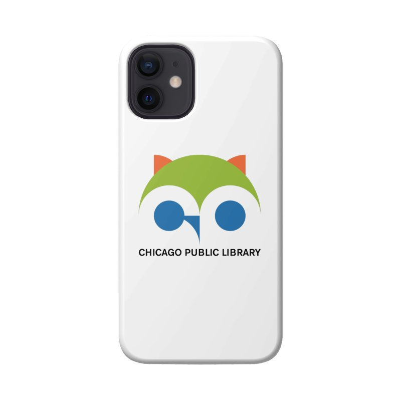 CPL Owl Accessories Phone Case by Chicago Public Library Artist Shop