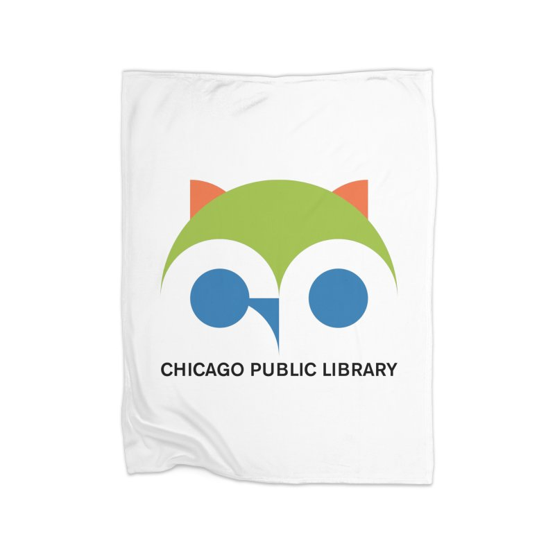 CPL Owl Home Blanket by Chicago Public Library Artist Shop