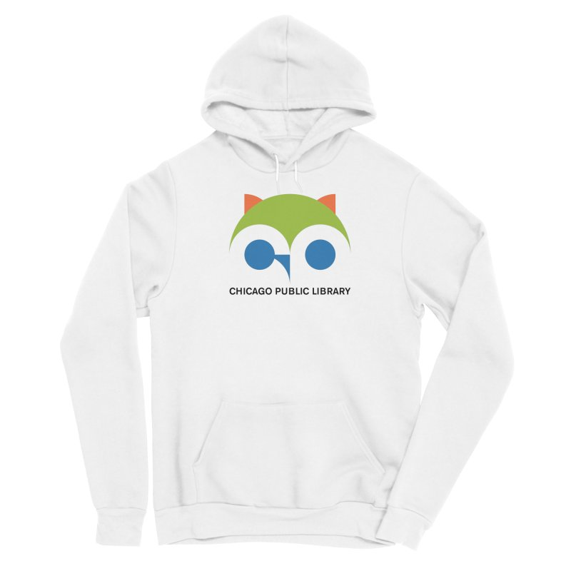CPL Owl Women's Pullover Hoody by Chicago Public Library Artist Shop