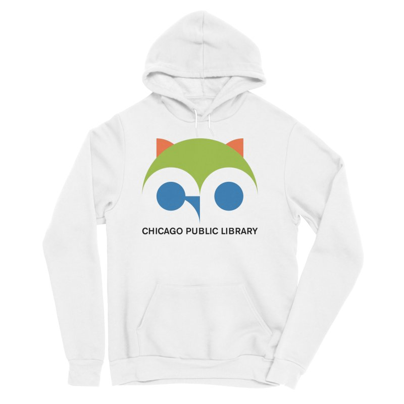 CPL Owl Women's Sponge Fleece Pullover Hoody by Chicago Public Library Artist Shop