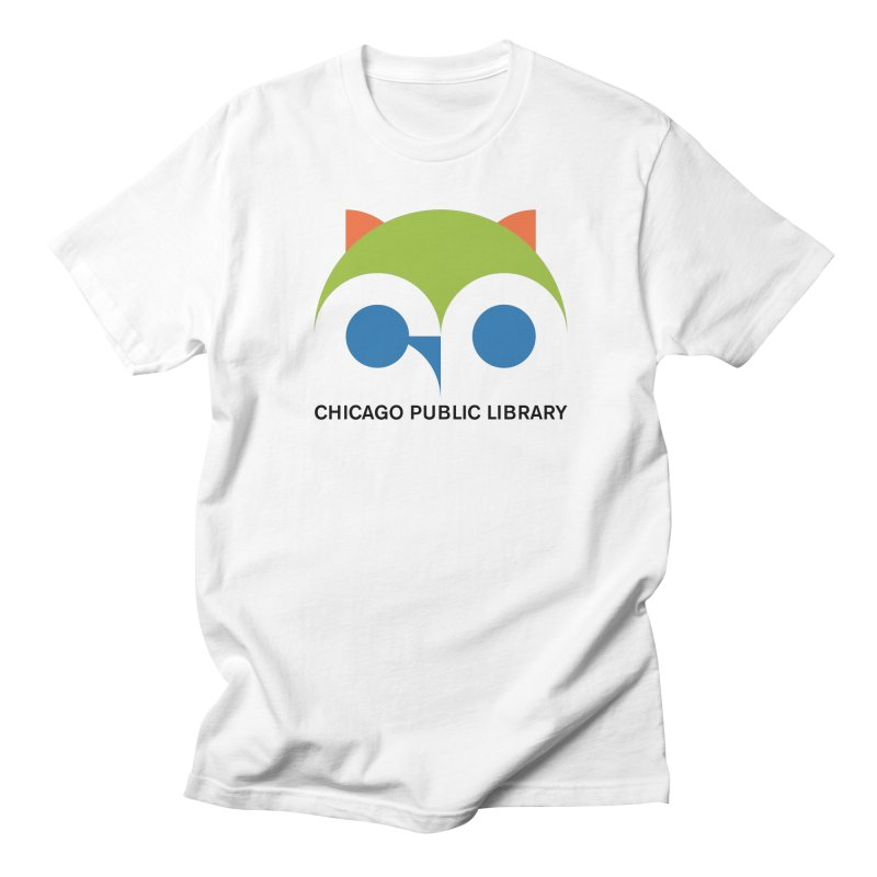 CPL Owl Men's T-Shirt by Chicago Public Library Artist Shop