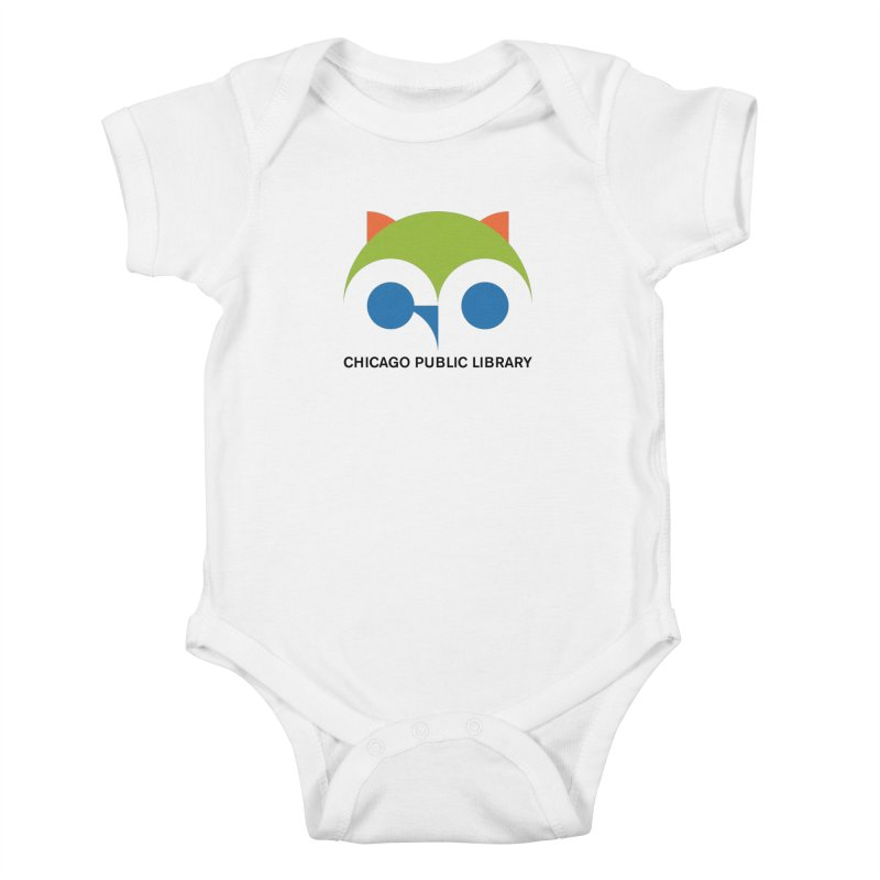 CPL Owl Kids Baby Bodysuit by Chicago Public Library Artist Shop