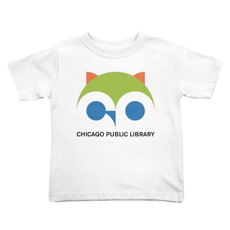 CPL Owl Kids Toddler T-Shirt by Chicago Public Library Artist Shop