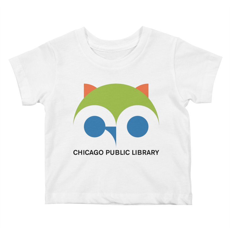 CPL Owl Kids Baby T-Shirt by Chicago Public Library Artist Shop