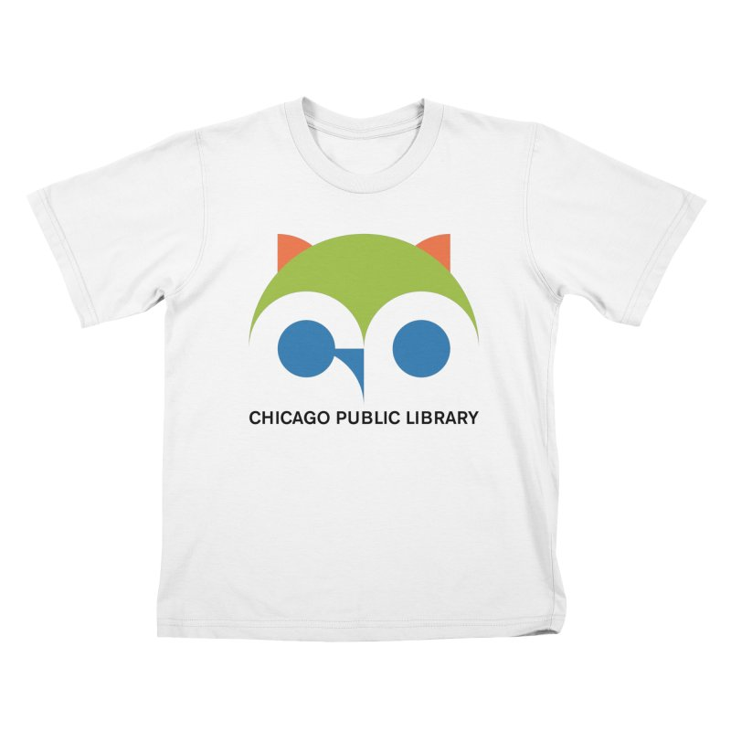 CPL Owl Kids T-Shirt by Chicago Public Library Artist Shop