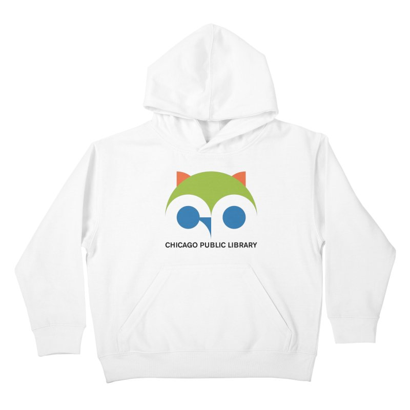 CPL Owl Kids Pullover Hoody by Chicago Public Library Artist Shop