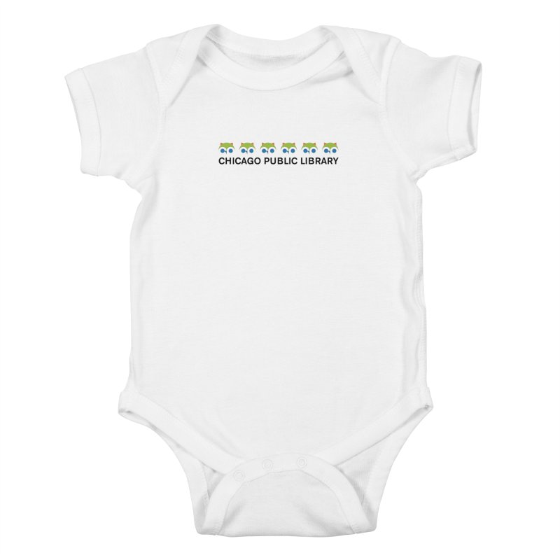 CPL Owl Row Kids Baby Bodysuit by Chicago Public Library Artist Shop