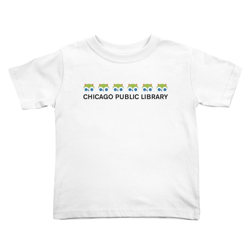 CPL Owl Row Kids Toddler T-Shirt by Chicago Public Library Artist Shop